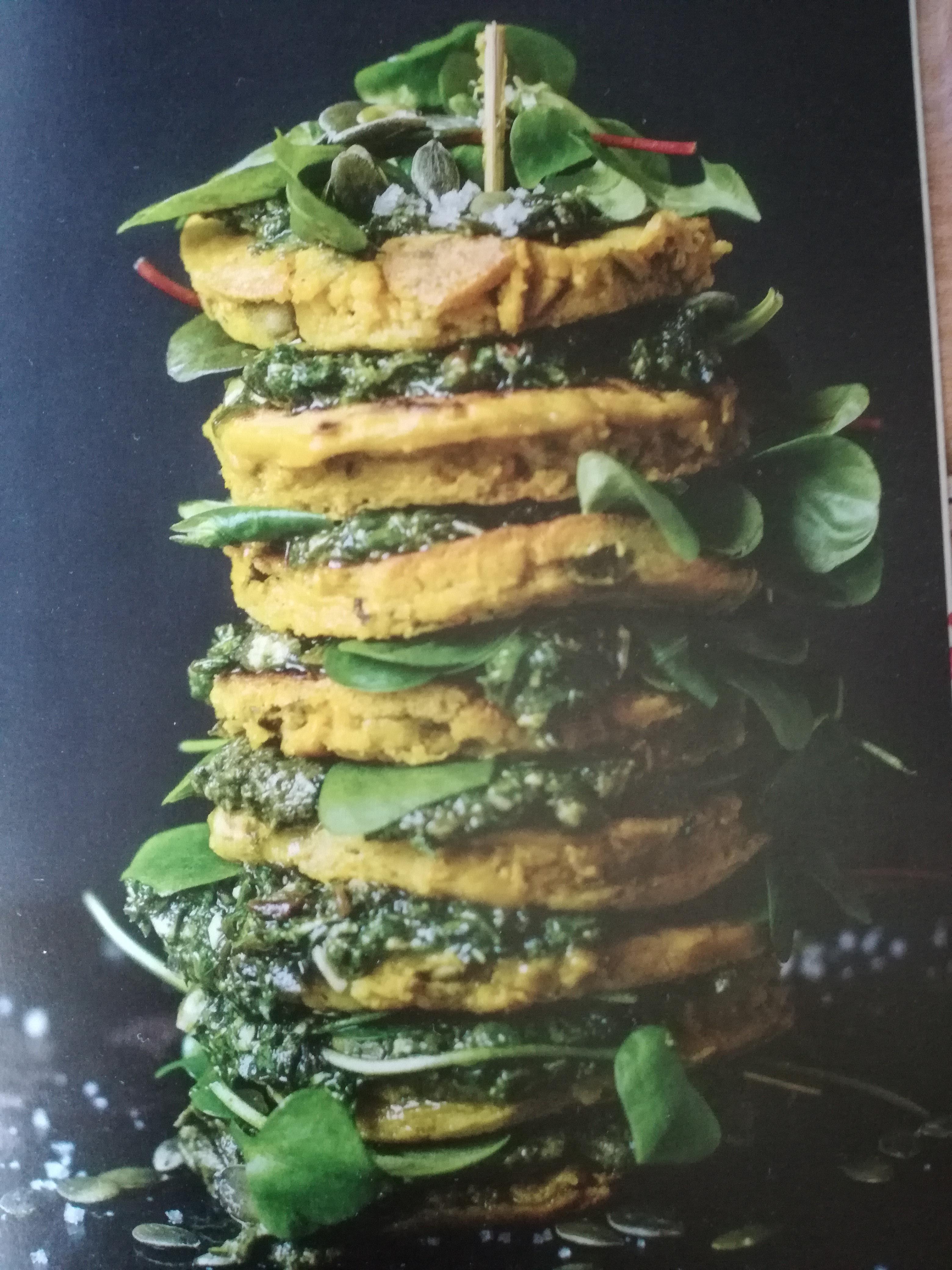 Zeewier pannenkoeken uit het kookboek Groente uit Zee