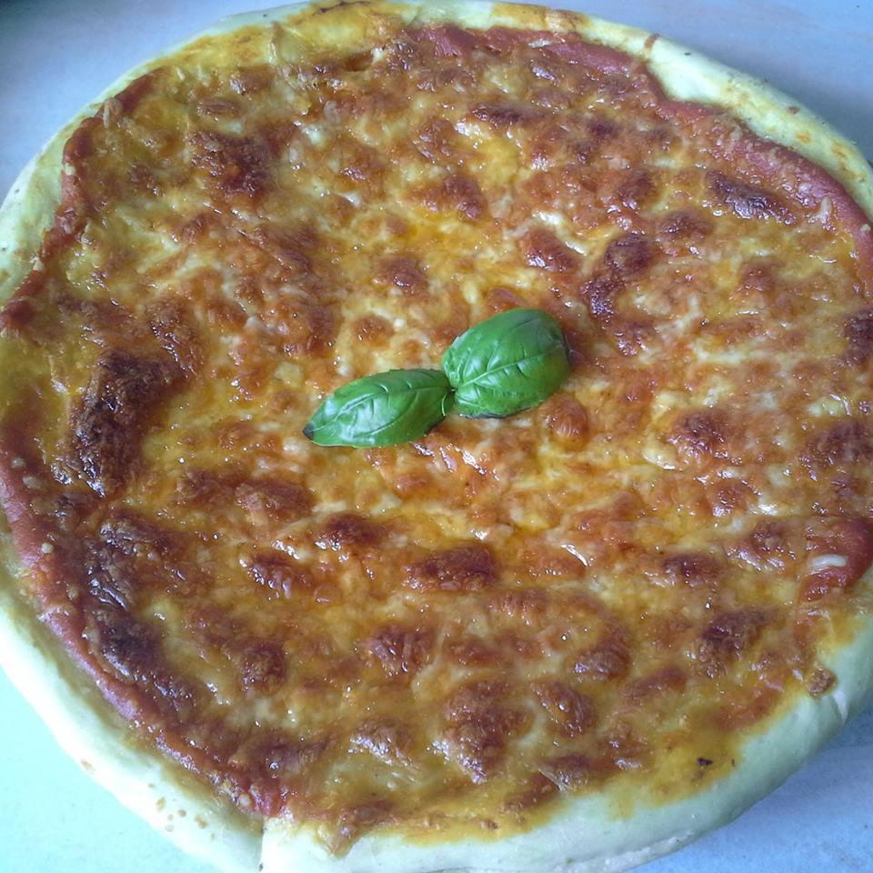Pizzaatje zeewier