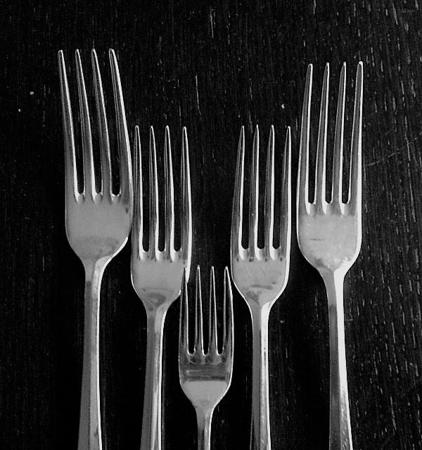 Een vorkje bij de patat