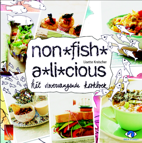 het vis vervangende kookboek met ook zeewier recepten